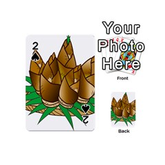 Young Bamboo Playing Cards 54 (mini)  by Mariart