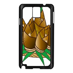 Young Bamboo Samsung Galaxy Note 3 N9005 Case (black) by Mariart