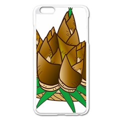 Young Bamboo Apple Iphone 6 Plus/6s Plus Enamel White Case by Mariart