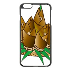 Young Bamboo Apple Iphone 6 Plus/6s Plus Black Enamel Case