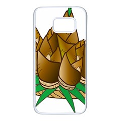 Young Bamboo Samsung Galaxy S7 White Seamless Case