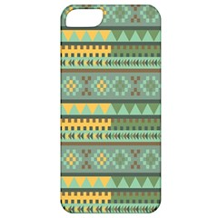 Bezold Effect Traditional Medium Dimensional Symmetrical Different Similar Shapes Triangle Green Yel Apple Iphone 5 Classic Hardshell Case