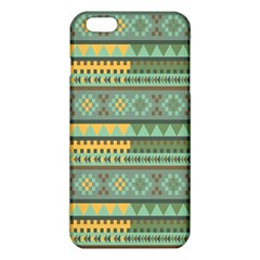 Bezold Effect Traditional Medium Dimensional Symmetrical Different Similar Shapes Triangle Green Yel Iphone 6 Plus/6s Plus Tpu Case by Mariart
