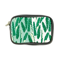 Banana Leaf Green Polka Dots Coin Purse