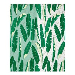 Banana Leaf Green Polka Dots Shower Curtain 60  X 72  (medium)  by Mariart
