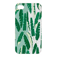 Banana Leaf Green Polka Dots Apple Iphone 4/4s Hardshell Case by Mariart