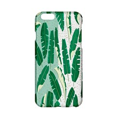 Banana Leaf Green Polka Dots Apple Iphone 6/6s Hardshell Case by Mariart