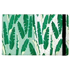 Banana Leaf Green Polka Dots Apple Ipad Pro 9 7   Flip Case by Mariart