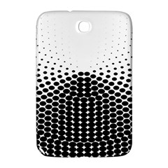 Black White Polkadots Line Polka Dots Samsung Galaxy Note 8 0 N5100 Hardshell Case  by Mariart