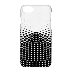 Black White Polkadots Line Polka Dots Apple Iphone 7 Hardshell Case by Mariart