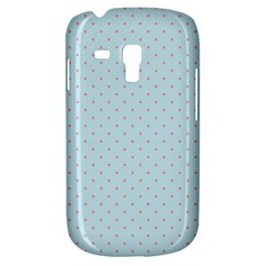 Blue Red Circle Polka Galaxy S3 Mini by Mariart