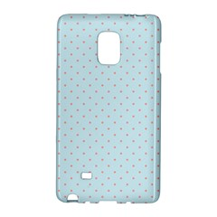 Blue Red Circle Polka Galaxy Note Edge by Mariart