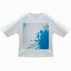 Blue Stain Spot Paint Infant/toddler T-shirts