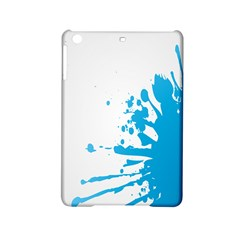 Blue Stain Spot Paint Ipad Mini 2 Hardshell Cases by Mariart