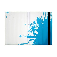 Blue Stain Spot Paint Ipad Mini 2 Flip Cases by Mariart