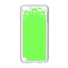 Bubble Polka Circle Green Apple Ipod Touch 5 Case (white) by Mariart