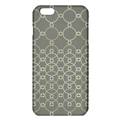 Circles Grey Polka Iphone 6 Plus/6s Plus Tpu Case by Mariart