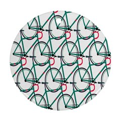 Bicycle Cycling Bike Green Sport Ornament (round) by Mariart