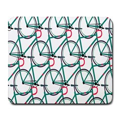 Bicycle Cycling Bike Green Sport Large Mousepads by Mariart