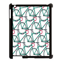 Bicycle Cycling Bike Green Sport Apple Ipad 3/4 Case (black) by Mariart