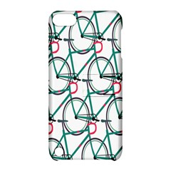 Bicycle Cycling Bike Green Sport Apple Ipod Touch 5 Hardshell Case With Stand by Mariart