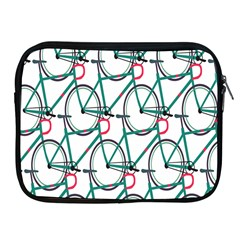 Bicycle Cycling Bike Green Sport Apple Ipad 2/3/4 Zipper Cases by Mariart