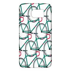 Bicycle Cycling Bike Green Sport Galaxy S6 by Mariart