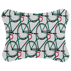 Bicycle Cycling Bike Green Sport Jigsaw Puzzle Photo Stand (bow) by Mariart