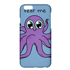 Colorful Cartoon Octopuses Pattern Fear Animals Sea Purple Apple Iphone 6 Plus/6s Plus Hardshell Case by Mariart