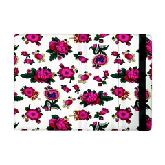 Crown Red Flower Floral Calm Rose Sunflower White Apple Ipad Mini Flip Case by Mariart