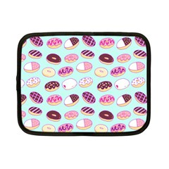 Donut Jelly Bread Sweet Netbook Case (small)  by Mariart