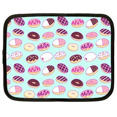 Donut Jelly Bread Sweet Netbook Case (large) by Mariart