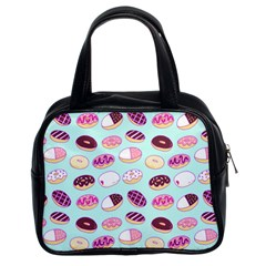 Donut Jelly Bread Sweet Classic Handbags (2 Sides) by Mariart