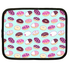 Donut Jelly Bread Sweet Netbook Case (xxl)  by Mariart