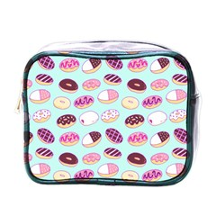 Donut Jelly Bread Sweet Mini Toiletries Bags by Mariart