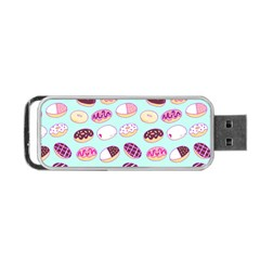 Donut Jelly Bread Sweet Portable Usb Flash (one Side)