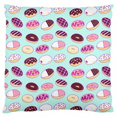 Donut Jelly Bread Sweet Standard Flano Cushion Case (two Sides) by Mariart
