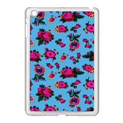 Crown Red Flower Floral Calm Rose Sunflower Apple Ipad Mini Case (white) by Mariart