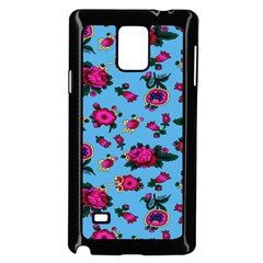 Crown Red Flower Floral Calm Rose Sunflower Samsung Galaxy Note 4 Case (black) by Mariart