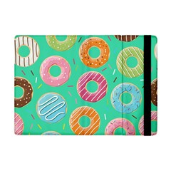 Doughnut Bread Donuts Green Ipad Mini 2 Flip Cases by Mariart