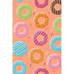 Doughnut Bread Donuts Orange 5 5  X 8 5  Notebooks by Mariart