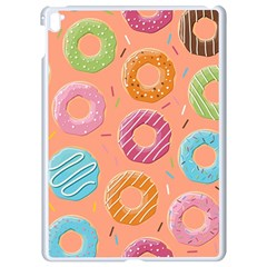 Doughnut Bread Donuts Orange Apple Ipad Pro 9 7   White Seamless Case by Mariart