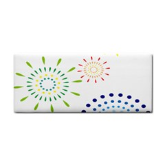 Fireworks Illustrations Fire Partty Polka Cosmetic Storage Cases