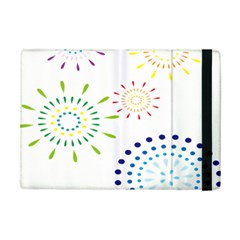 Fireworks Illustrations Fire Partty Polka Ipad Mini 2 Flip Cases