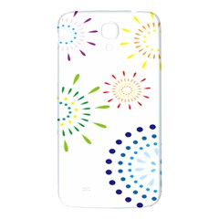 Fireworks Illustrations Fire Partty Polka Samsung Galaxy Mega I9200 Hardshell Back Case by Mariart