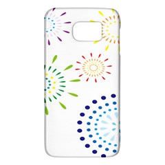 Fireworks Illustrations Fire Partty Polka Galaxy S6 by Mariart