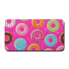 Doughnut Bread Donuts Pink Medium Bar Mats by Mariart