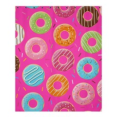 Doughnut Bread Donuts Pink Shower Curtain 60  X 72  (medium)  by Mariart