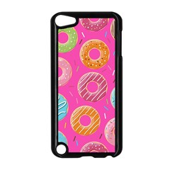 Doughnut Bread Donuts Pink Apple Ipod Touch 5 Case (black) by Mariart