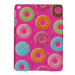 Doughnut Bread Donuts Pink Ipad Air 2 Hardshell Cases by Mariart